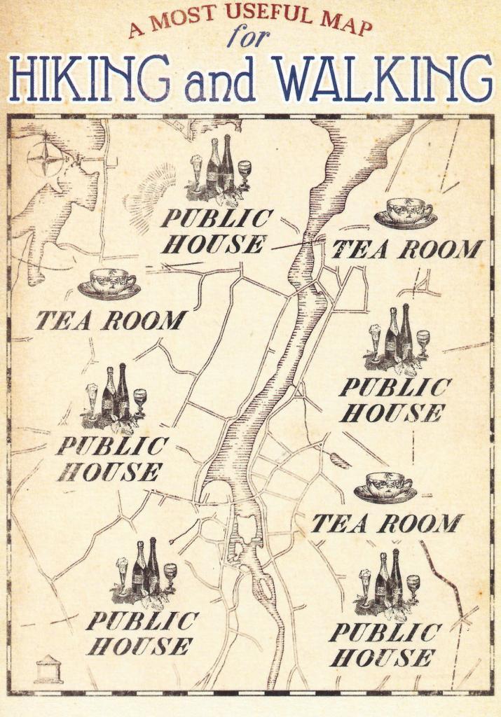 A useful Hiking Map?