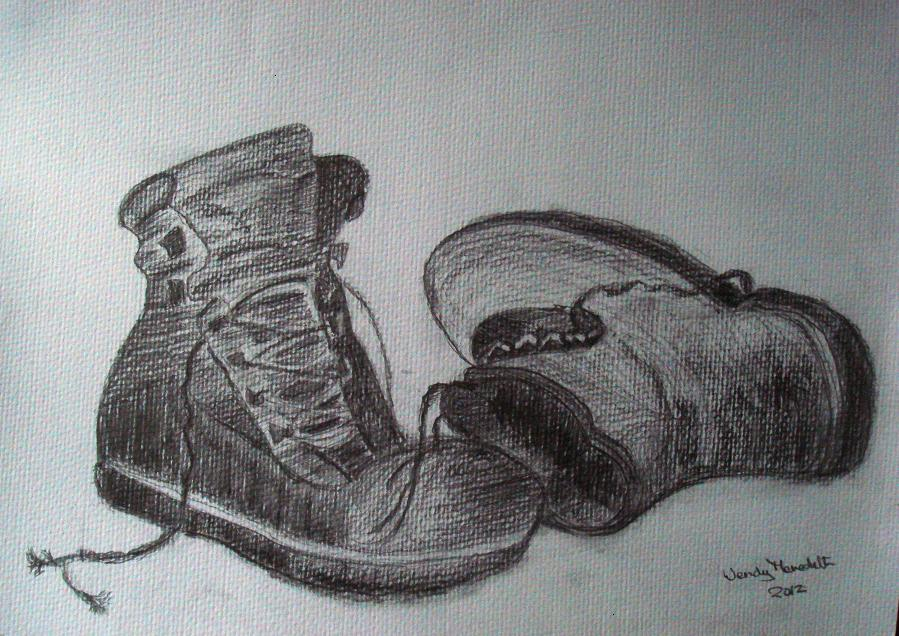A drawing by Wendy Meredith, 2012