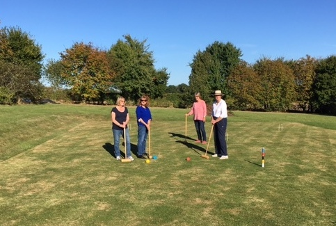 First practice Croquet session