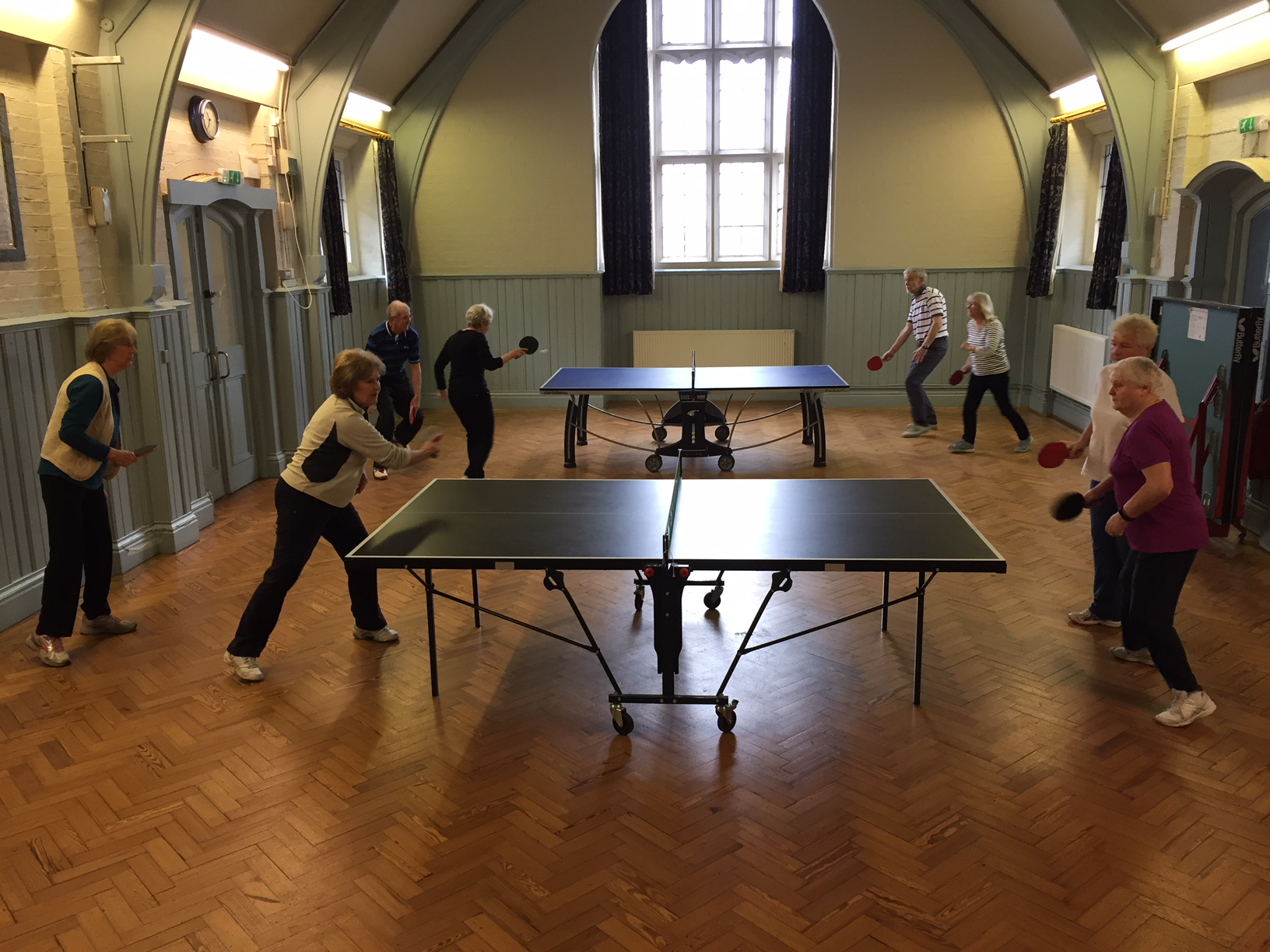 Table Tennis at Ticehurst