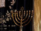 Exeter Synagogue menorah