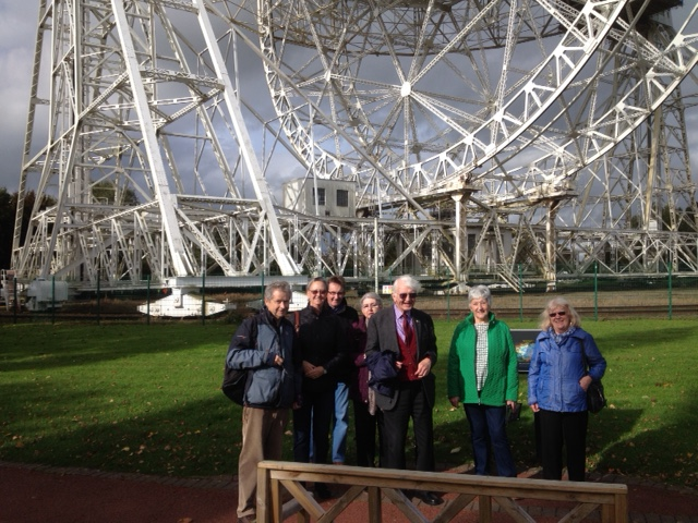 Group at Jodrell Bank 12th October 2017