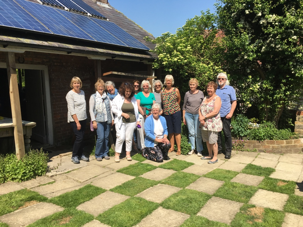 Group outing to local garden