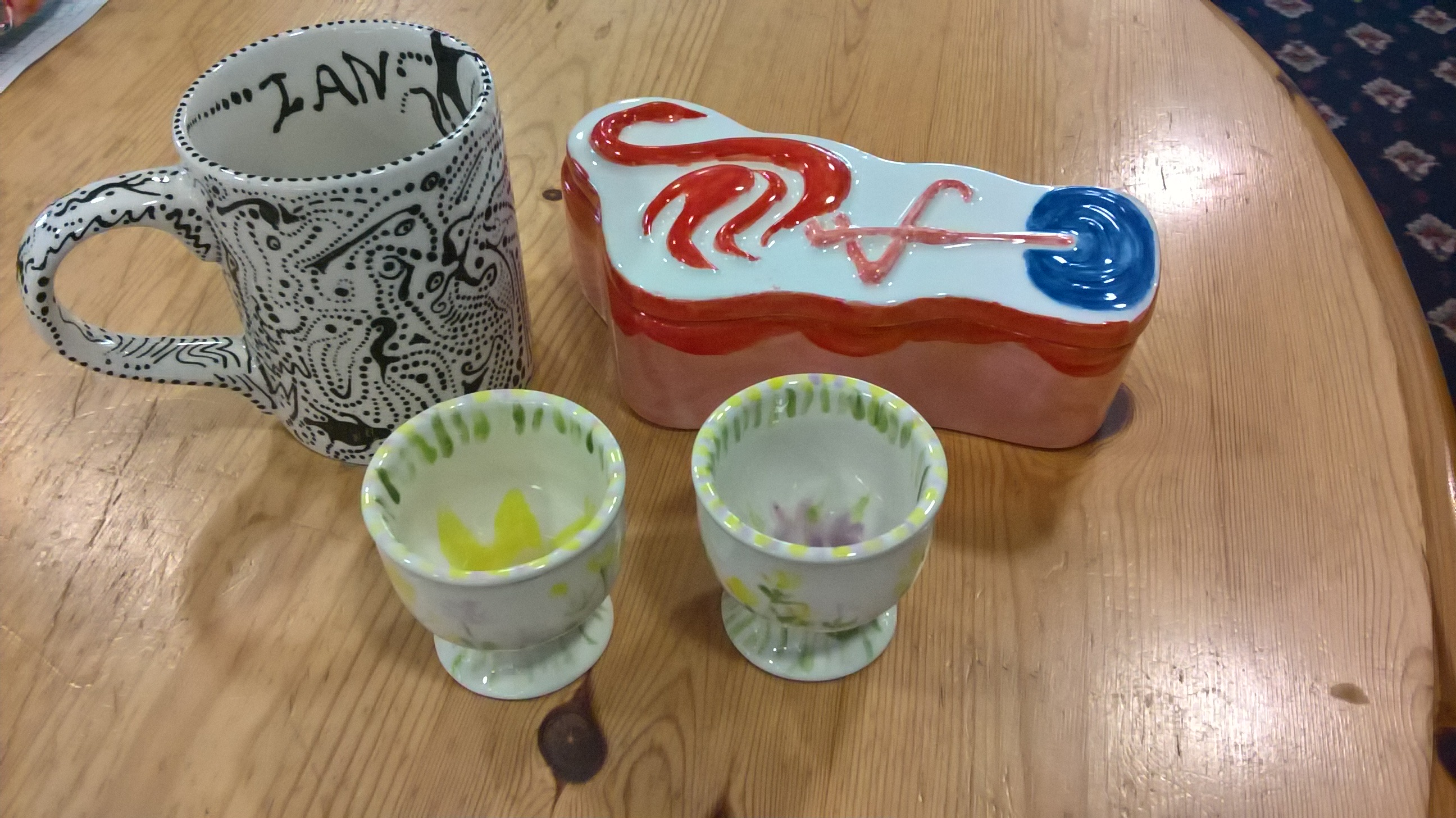 Selection of Pottery craft