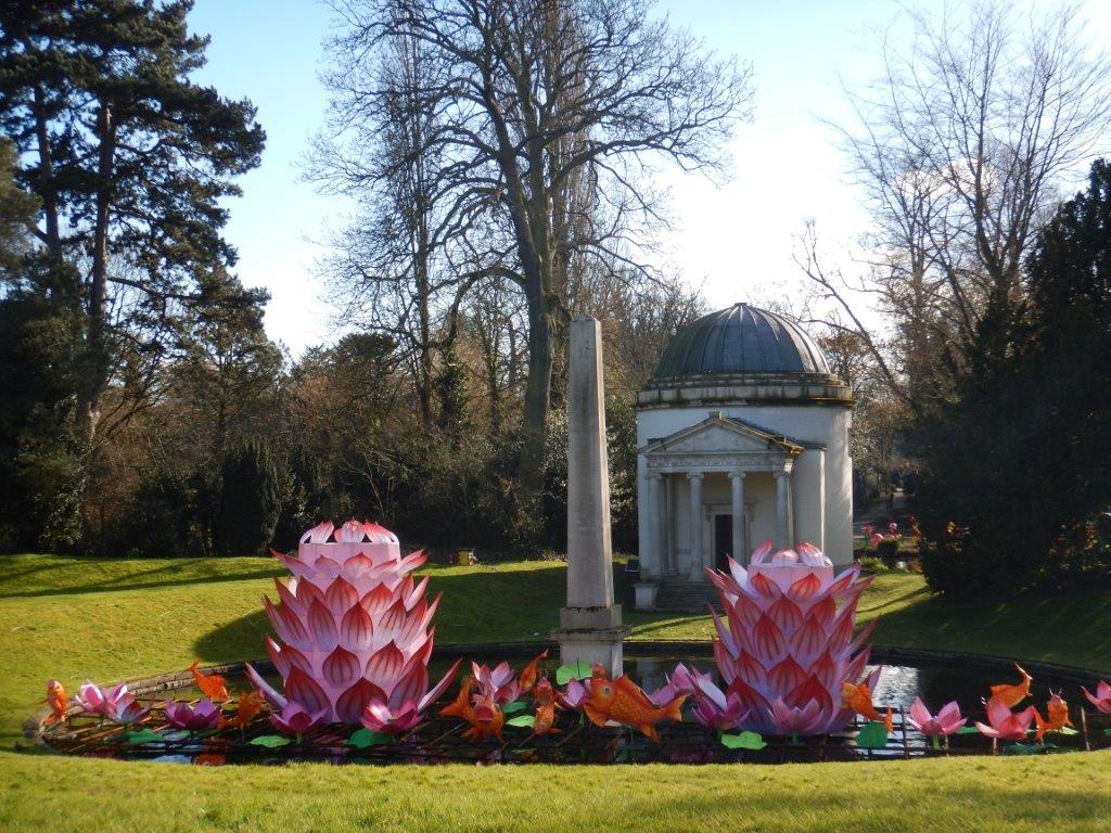 Chinese Lanterns at Chiswick Hse & Gdns