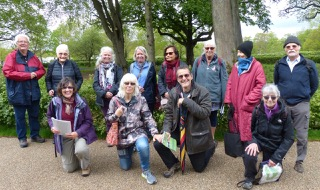 Group visit to Wakehurst Place