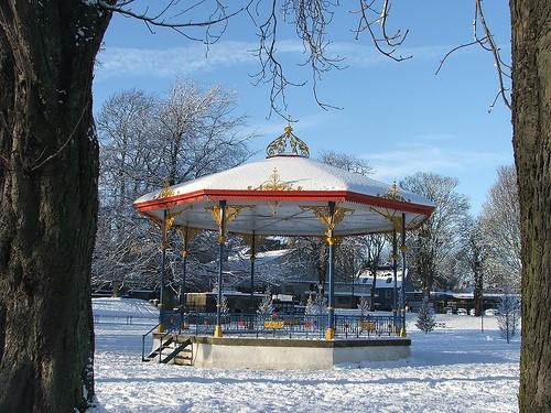 Winter in Cupar