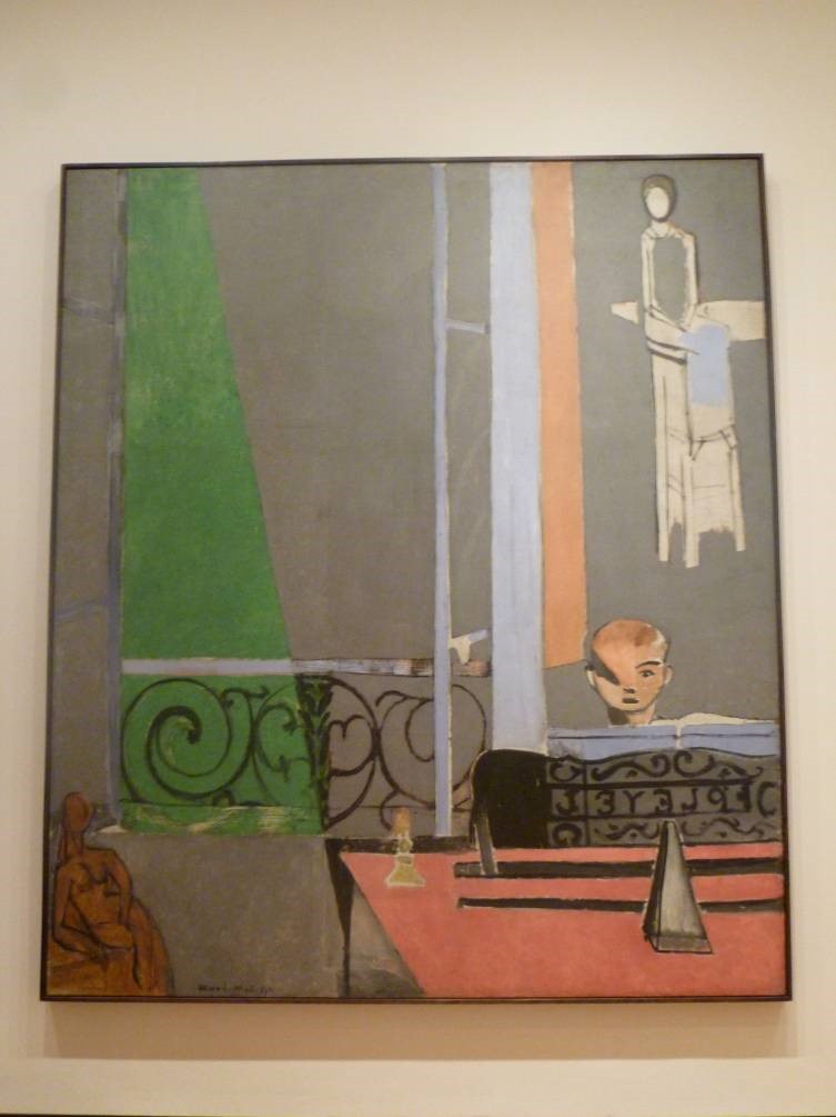 The Piano Lesson by Matisse