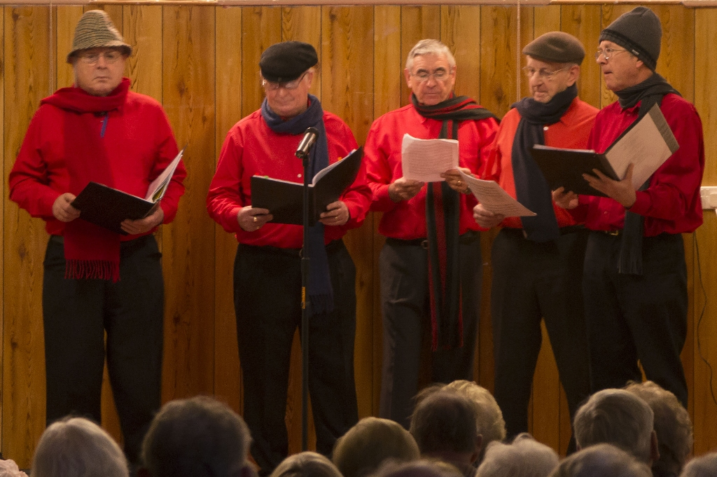 Mens singing group