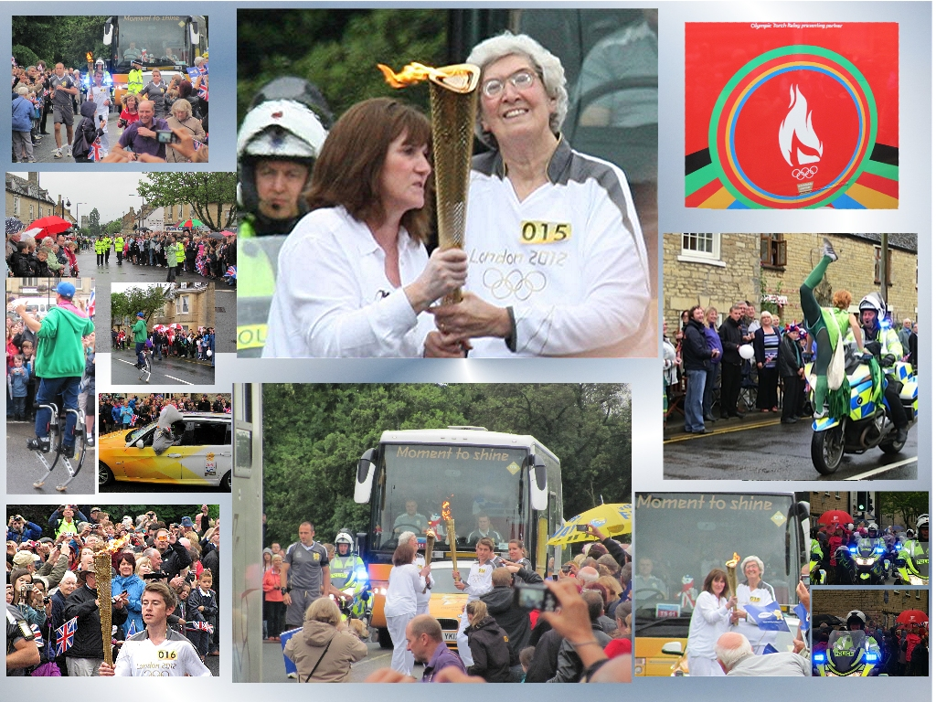 Olympic Torch in The Deepings