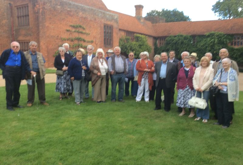 August visit to Ingatestone House