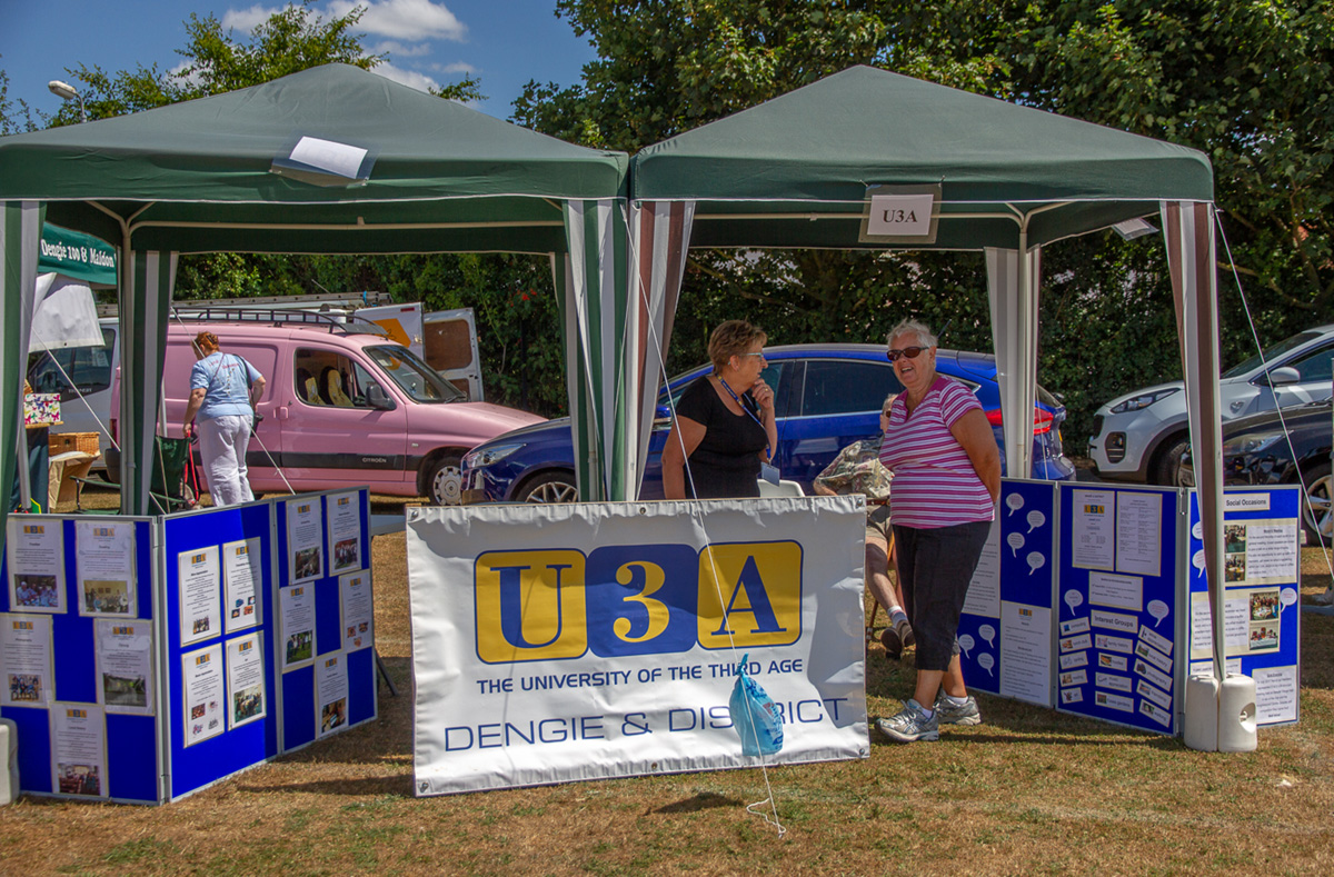 Our stall at the Tillingham Flower Show