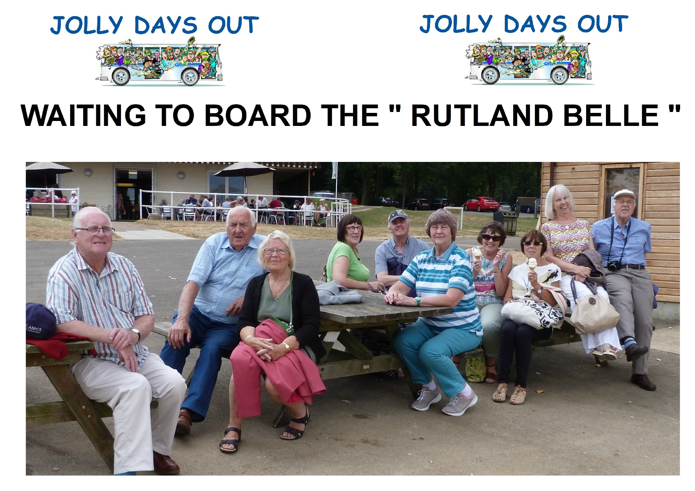 """Waiting to Board the """"Rutland Belle"""""""