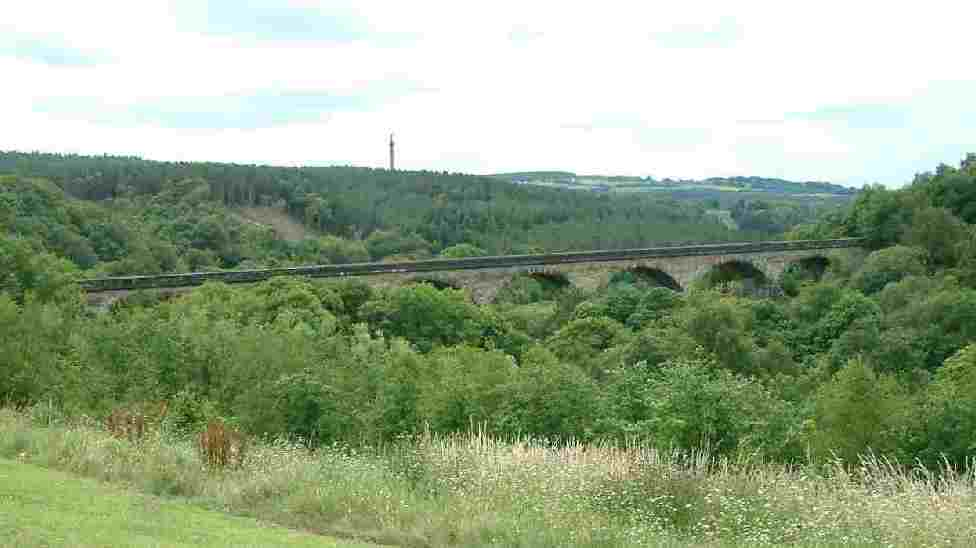 Viaduct over the River Derwent