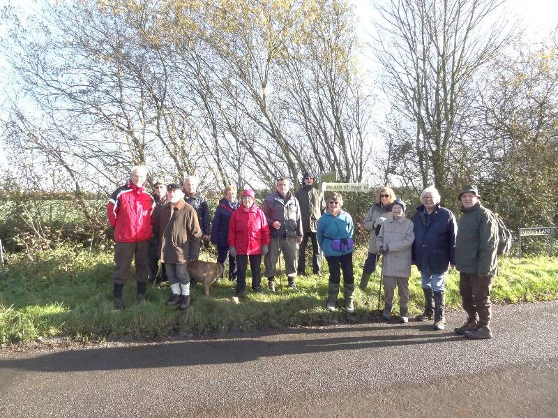 Walking Group - November 2015