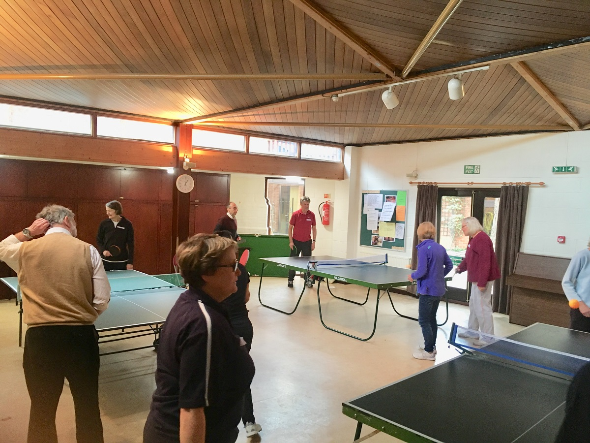 Table Tennis at St Barnabus