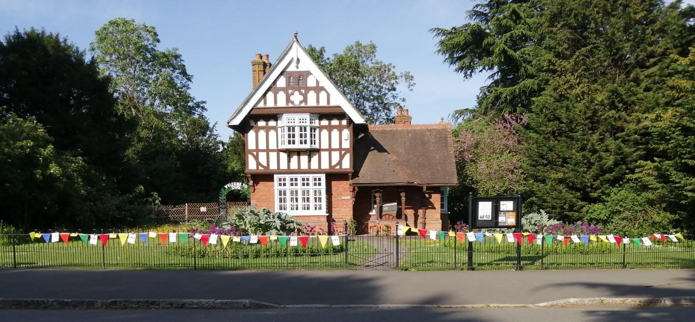 Rosebery Lodge bunting