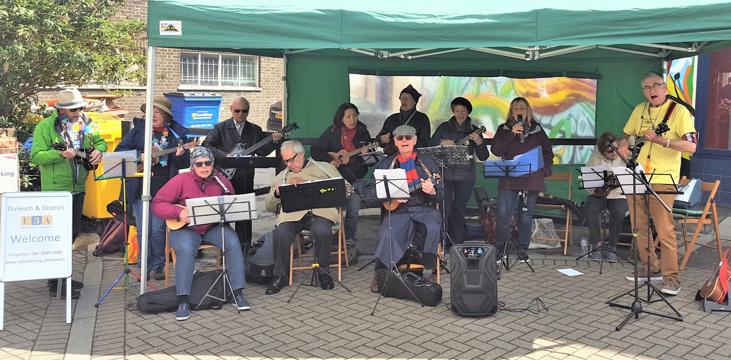 UKULELE GROUP FOREST HILL STATION