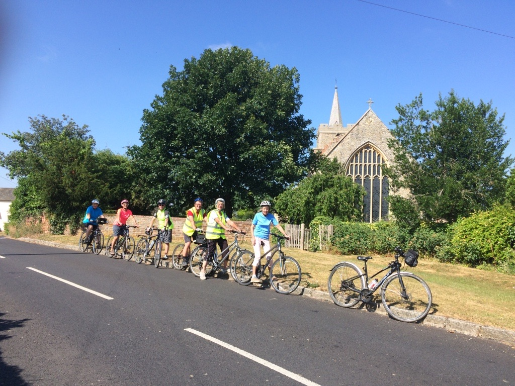 Riding in Stebbing