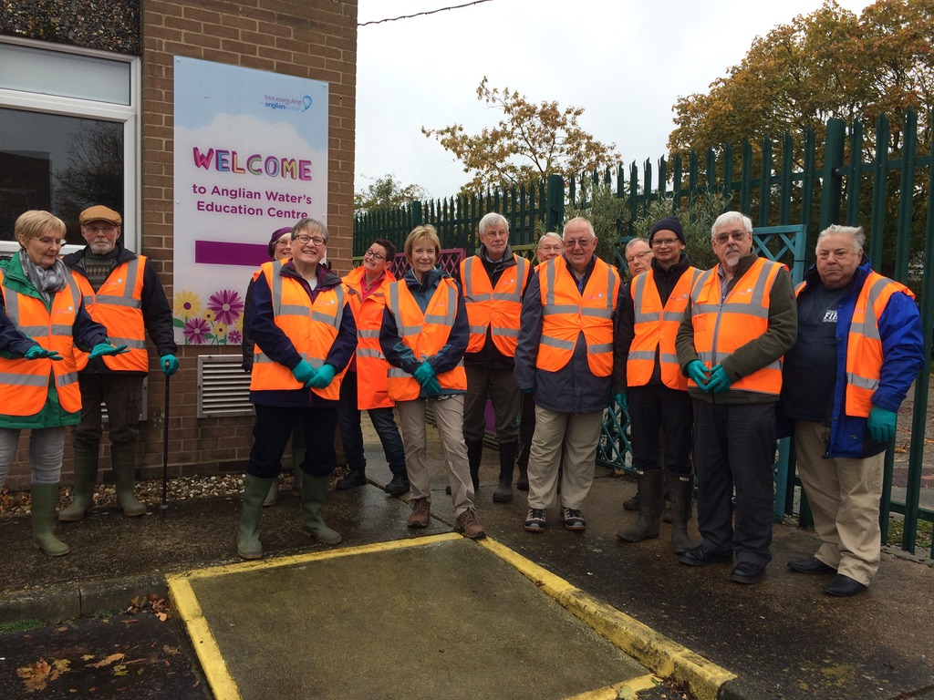 Visit to Anglian Water Recycling