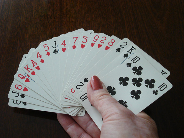 Canaster cards