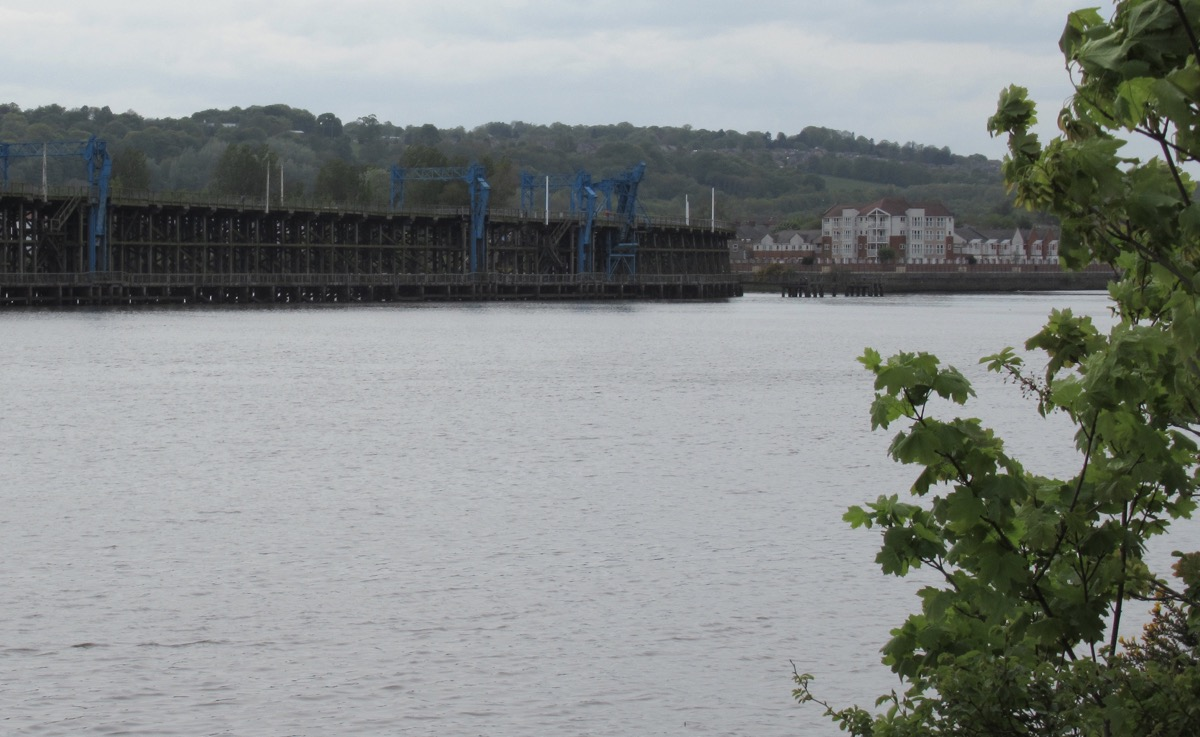 The regenerated Dunston Staiths area