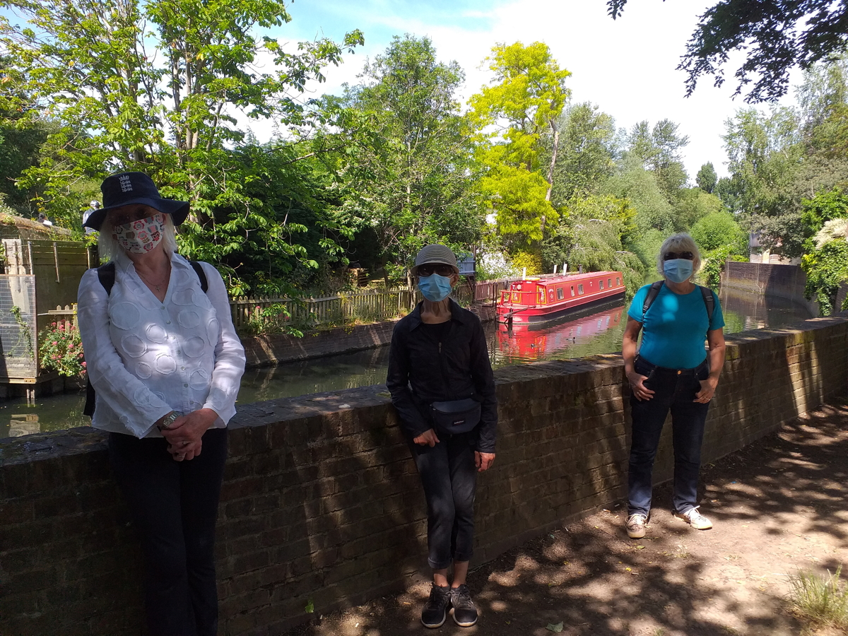 Canal & Ealing Parks: Tues 2nd June 2020