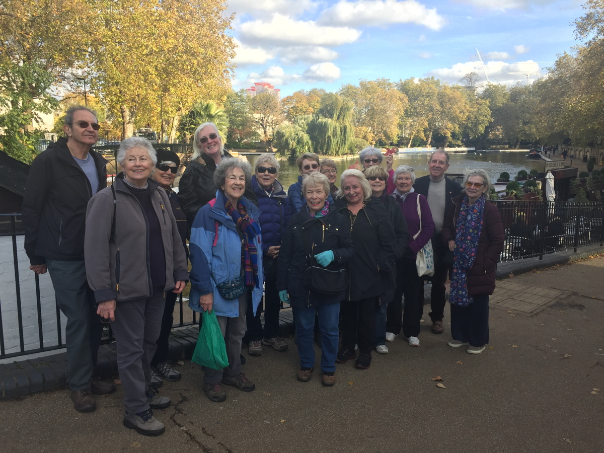 The Saturday Ramblers at Little Venice