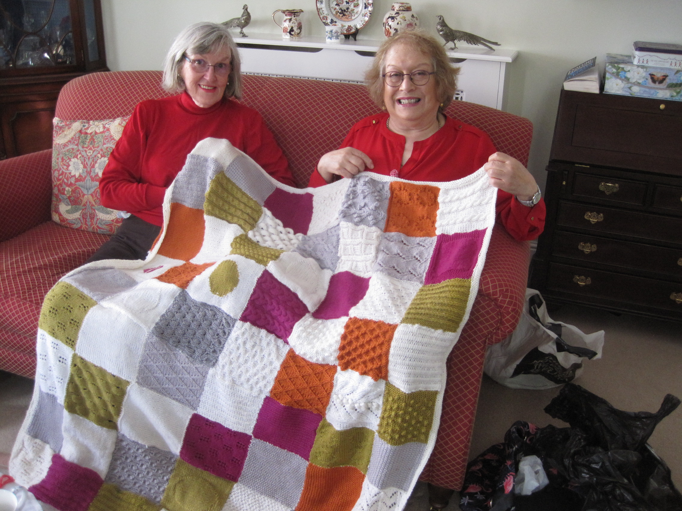 Blanket made by Crafts 1 group