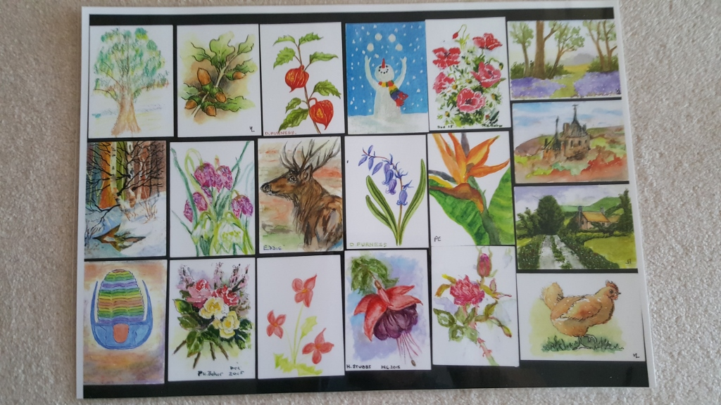 selection of mini pictures by this group