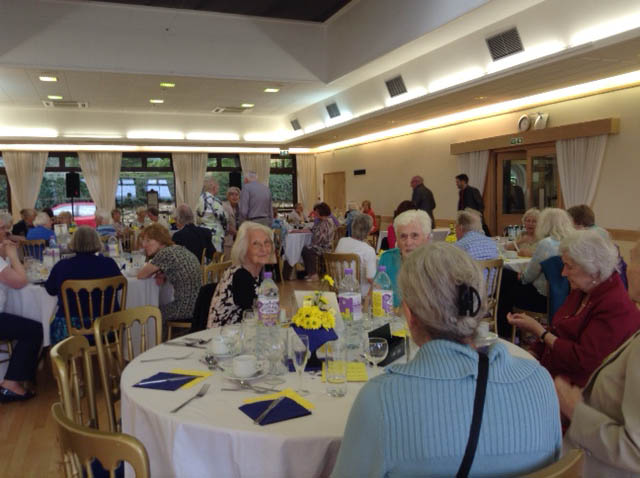 U3A members celebrating the Anniversary