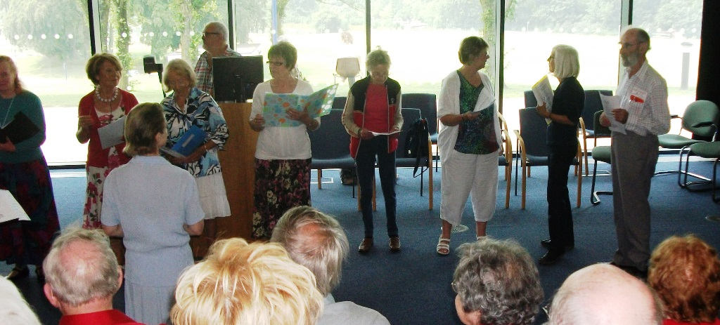 JULY 2014 - Combined singing group