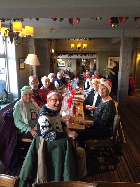 Sat Out & About group Xmas lunch 2019