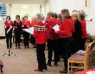 singers led by lesley hartley
