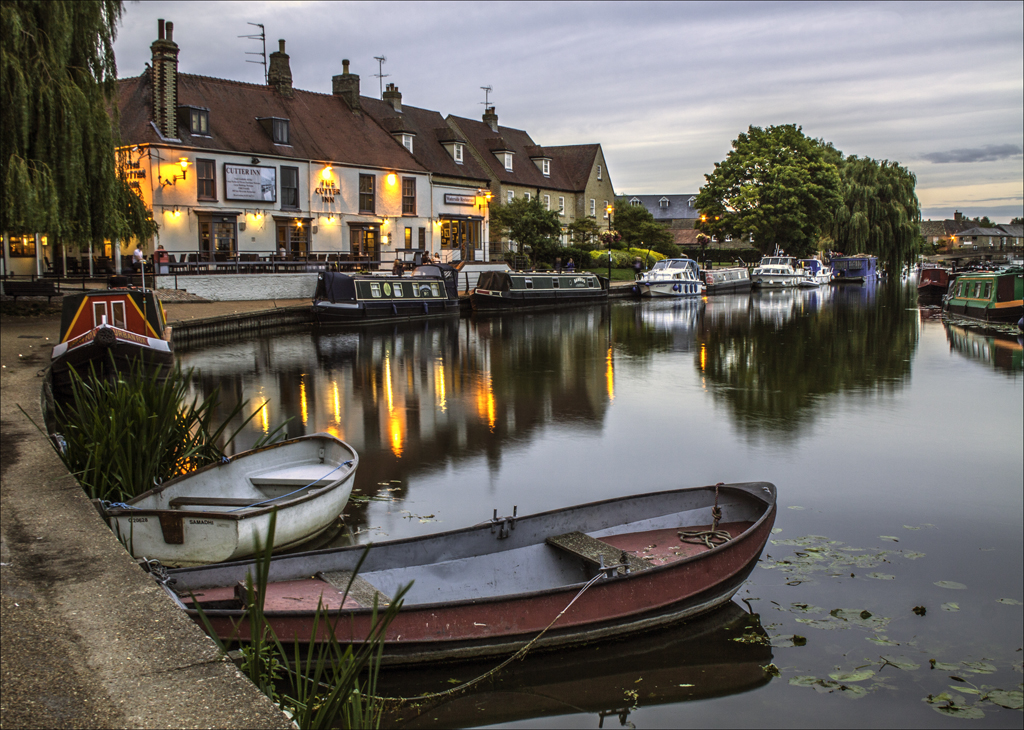 Ely Ouse at the Cutter Inn