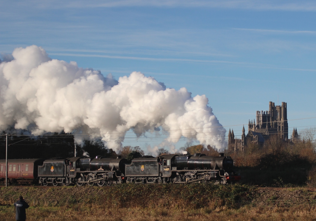 Steam excursion to Norwich