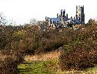 Ely Cathedral from Kiln Lane Bridge