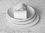 White Plates by Pauline Hewitson