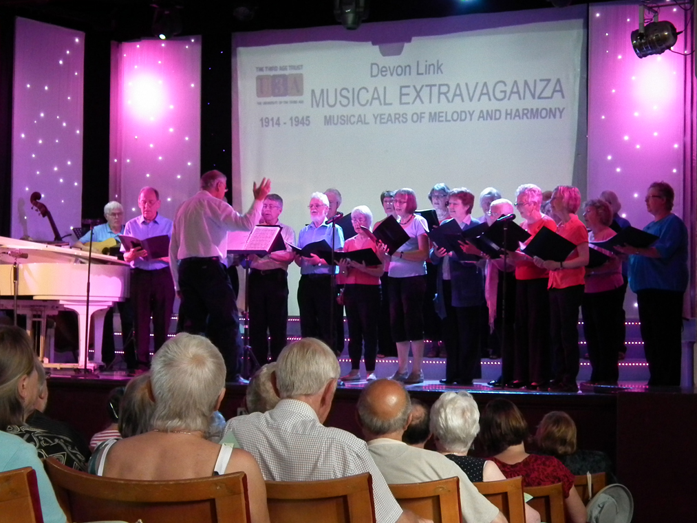 Another shot of the choir at Babbacombe