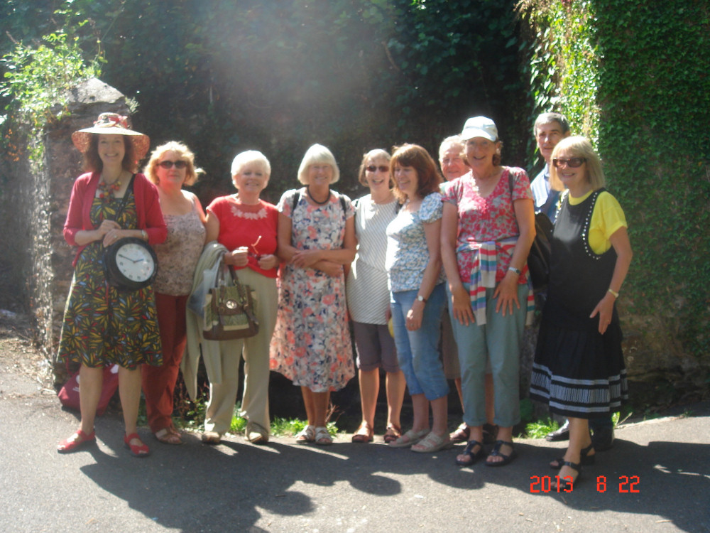 Our tour of Totnes