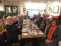 Tuesday bridge Xmas meal at Bickleigh