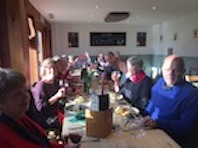 January Xmas lunch at the Ashill Inn
