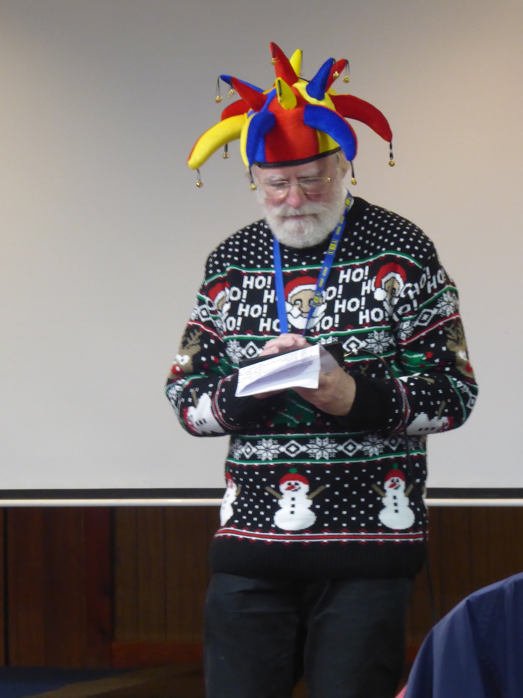 Our Chairman at Christmas