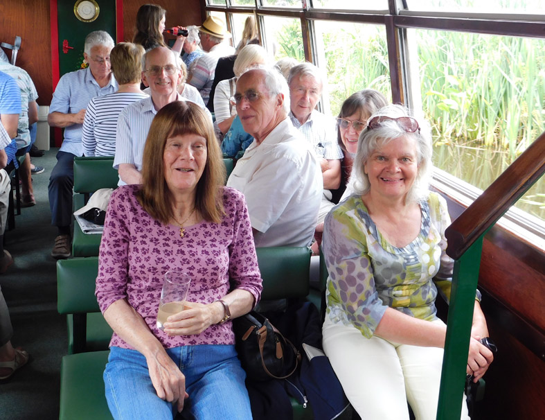 Transport Group on Canal Trip - 5 July
