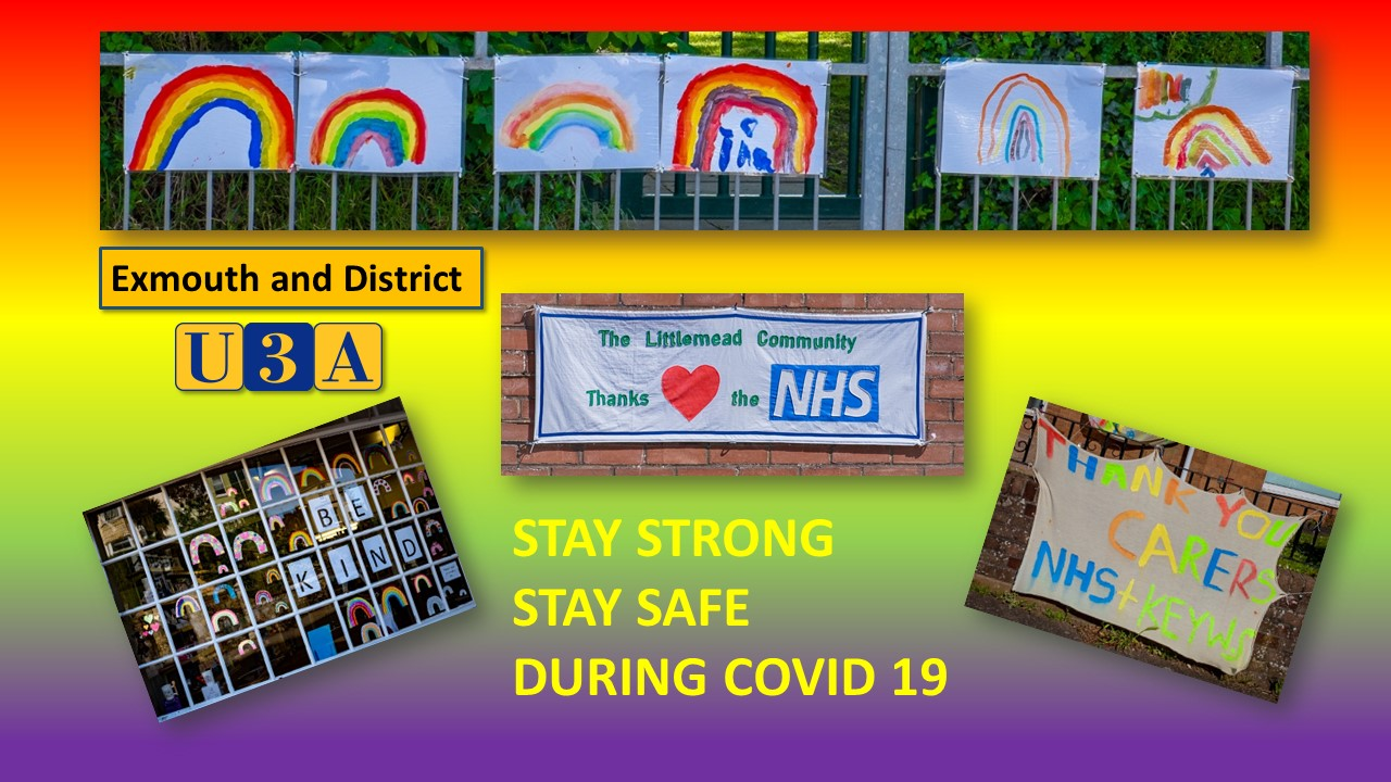 Stay Safe Stay Strong poster 20200511