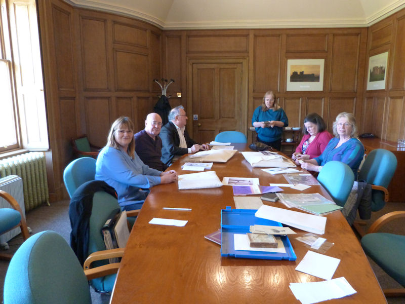 Learning about Falkirk Archives
