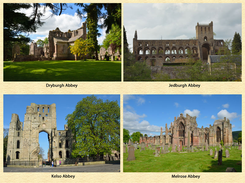 Four Border Abbeys