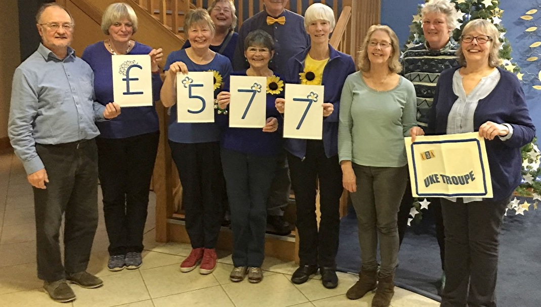 Total raised for the Hospice