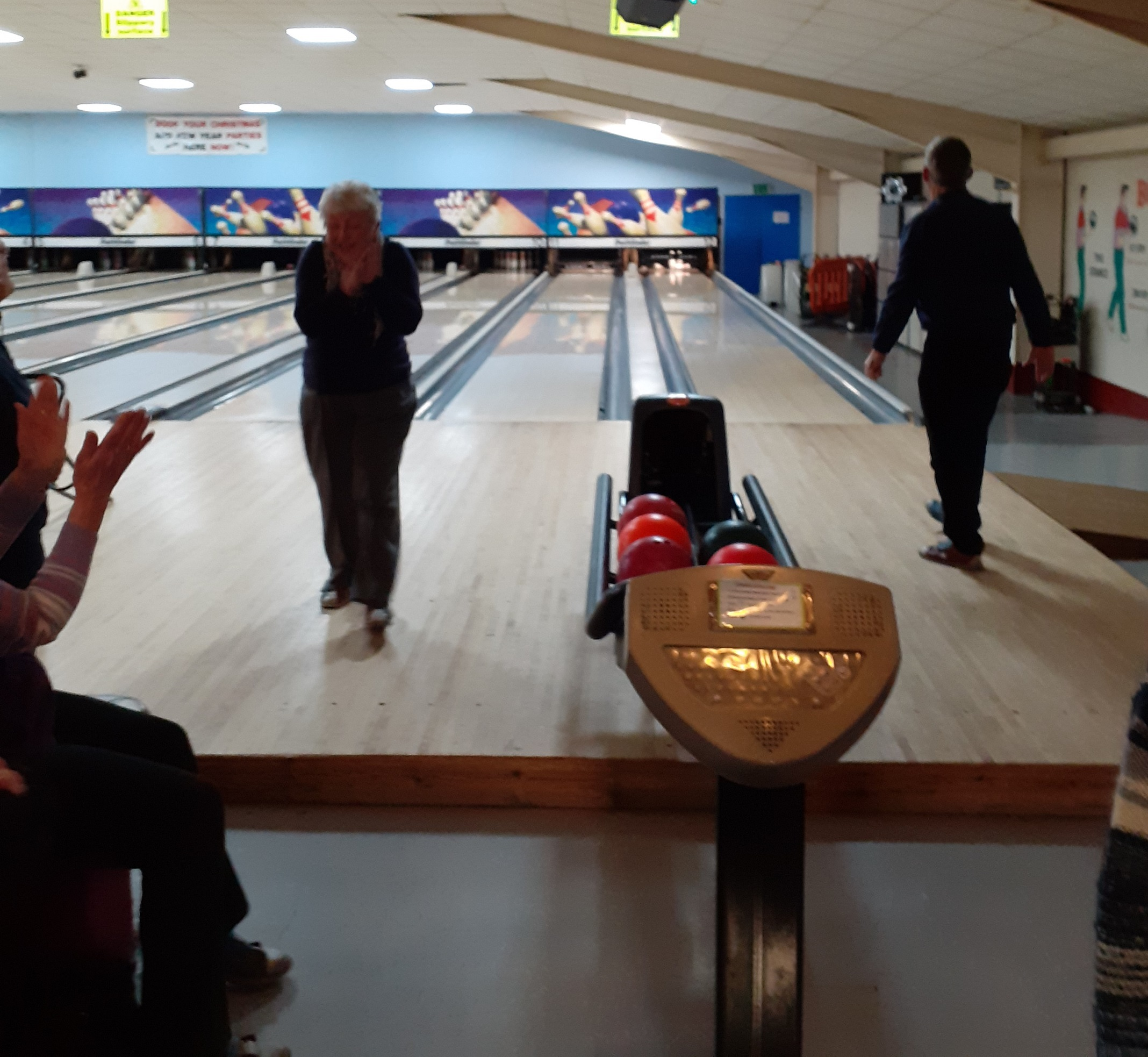 November 10 pin bowling