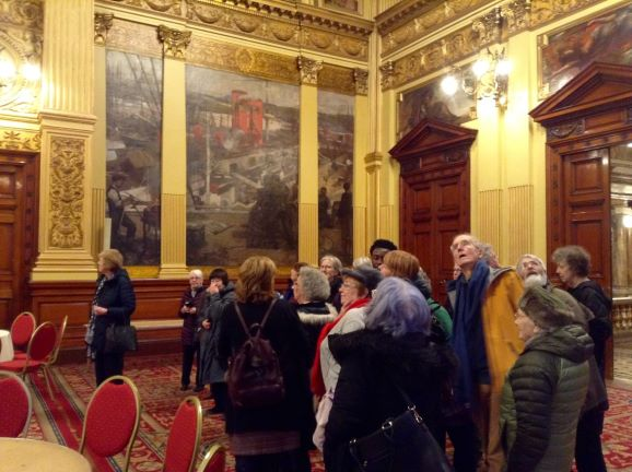 Visit to Glasgow City Chambers
